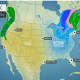 A look at the weather outlook on Christmas Day, Friday, Dec. 25.