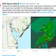 Santa Sails Past Strong South Jersey Winds, Pennsylvania Flash Floods