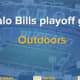 The Buffalo Bills' first home playoff game in 25 years will be part of a pilot program to determine how to use COVID-19 testing to keep businesses open.