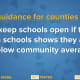 New York Gov. Andrew Cuomo offered updated guidance on keeping schools open during the COVID-19 pandemic.