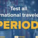 New York Gov. Andrew Cuomo is calling on airlines to test international travelers for COVID-19 before letting them fly into the state.