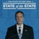 """New York Gov. Andrew Cuomo giving Day 2 of the """"State of the State"""" address."""