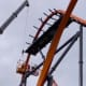 The new top to the Jersey Devil Coaster at Six Flags Great Adventure