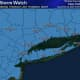 A look at the coverage area for the Winter Storm Watch in effect from 6 a.m. Thursday, Feb. 18 until 6 a.m. Friday, Feb. 19.