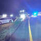The driver — whose identity was not released — hit the guardrail in the center median near milepost 10.6 in Bethlehem Township shortly after 8:50 p.m., NJSP Trooper Lawrence Peele told Daily Voice.