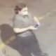 A man is wanted in Huntington after allegedly tagging multiple buildings on Long Island.
