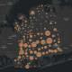 The Nassau County COVID-19 map on Thursday, July 15.