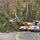 Dump Truck Crash Causes Delays, Power Outages On Route 517