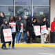 Customer Spars With Striking Workers After Crossing Picket Line At Wilton Stop & Shop