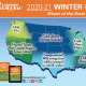 New Farmers' Almanac Winter Weather Predictions 2020-21.
