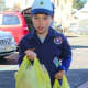 Leonia Cub Scouts assisted with the annual food collections drive.