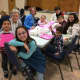 United Methodist Church of New Canaan members enjoyed making Valentine's for senior citizens.