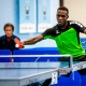 The Westchester Table Tennis Club hosted a monthly world class table tennis tournament.