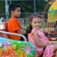 Trevor and Charlotte Lucca enjoying the carnival rides at the annual Wyckoff Labor Day Fireworks.