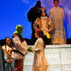 """Rye High School students rehearse for """"Shrek the Musical."""" The cast includes Cameron Kamer as Shrek and Penny Deen as Fiona. There are three shows: at 7:30 p.m. Friday and Saturday, as well as a 2 p.m. matinee."""