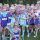Third and fourth grade clinic last summer at Stick2Stick.