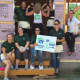 TD Bank's Power of Women team at work in Bergenfield for Habitat for Humanity of Bergen County.