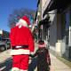 Santa highlighted Bronxville's holiday celebration.