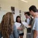 "Bronxville High School seniors who are reading ""Henry IV, Part 1"" in Victor Maxwell's English class are acting out scenes from the play to better understand the meaning behind the author's words."