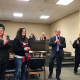 The Cliffside Park mayor and council congratulated the cheerleading team for its championship win.