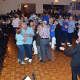 Attendees partook in dancing at the party celebrating the township's 300 years.