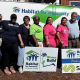 A group of female employees from Suez helped paint and install insulation at a newly built house in Bergenfeld as part of Habitat for Humanity of Bergen County's annual Women Build in Bergenfield.