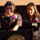 Students address the 4th Annual Latino Youth Leadership Conference at New Rochelle High School.