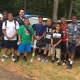 Monroe Police Officer Omar Wahib recently visited Camp Courant for Law Enforcement Day.