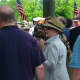 Last year, the Clintons made an appearance at the New Castle Memorial Day Parade.