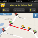 """The """"Where's Our School Bus?"""" app features a map that shows users where their school bus is on its route."""