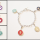 "The newly launched ""Charming"" line is custom, sterling silver and 14k gold charm bracelets."