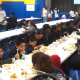 Close to 300 people came to receive meals as part of the Martin Luther King Jr. Interfaith Day of Service.