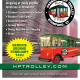 A new, free trolley is set to run from downtown Stamford to Harbor Point and the south end starting on Friday, Feb. 14.