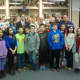 Harrison veterans and students came together Thursday night so that the students could show their appreciation for their service.