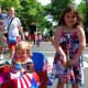 Piper and Lauren Savino enjoying the festivities at the 2013 Push-n-Pull Parade.
