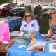 Judith White and Hella McSweeney of Wilton Center Travel said the Wilton Street Fair is good for local businesses.