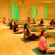 Yoga sessions helped the teens with breathing, meditation and relaxation techniques.