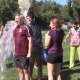 Scarsdale Superintendent Thomas Hagerman took the ALS Ice Bucket Challenge.