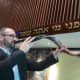 Rabbi Jay TelRav at Stamford's Temple Sinai holds a shofar that is used during the High Holy Days that end with Yom Kippur this weekend.