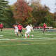 The synthetic turf field at the Eastchester High School no longer poses a danger threat.