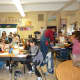 Main Street School fourth graders participated in Halloween learning which included games about homonyms.