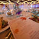 Guests dined on a three course meal at the gala.