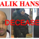 Ralik Hansen, shown in this wanted poster, shot himself to death on Oct. 31 when he thought a deliveryman who came to his apartment was the police. He was a suspect in a smash-and-grab robbery at a New Canaan jewelry store last year.