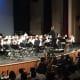 Irvington schools perform at the concert.