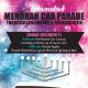 A banner promoting the Larchmont &  Mamaroneck menorah car parade.