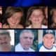 Seven of the eight people who died in a 2009 wrong-way car accident on the Taconic Parkway, one of the deadliest tragedies in Westchester.