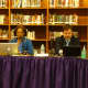 The New Rochelle Board of Education deliberates during the latest board meeting on Thursday.