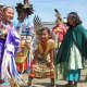 The group attended the annual pow wow with dancing and drumming competitions, traditional regalia, storytelling and teepees set up across the vast pow wow grounds.