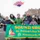 A view from last year's Sound Shore St. Patrick's Day Parade.
