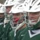 The defending New York state champion Yorktown boys lacrosse team plays archrival Lakeland/Panas Cup in the Murphy Cup May 2 at Yorktown's Charlie Murphy Field.